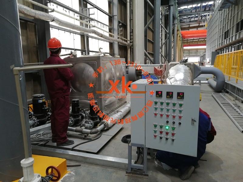 热镀锌余热回收系统